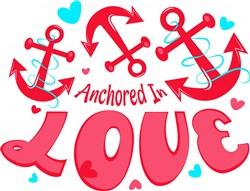 Anchored In Love print art