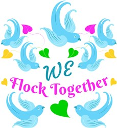 We Flock Together print art