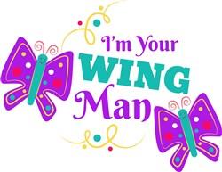 Im Your Wing Man print art
