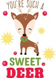 You re Such A Sweet Deer print art