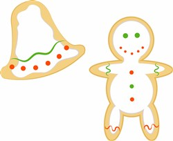 Holiday Cookies print art