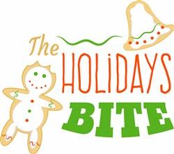 The Holidays Bite print art