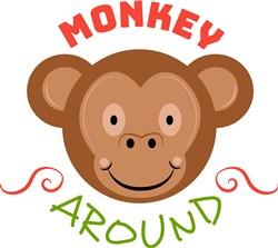 Monkey Around print art