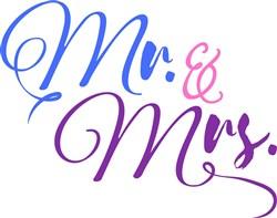 Mr. & Mrs. print art