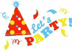 Lets Party! print art