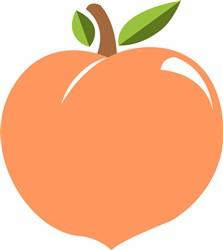 Peach print art