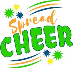 Spread Cheer print art