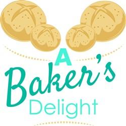 A Bakers Delight print art
