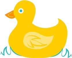Rubber Ducky print art