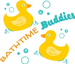 Bathtime Buddies print art