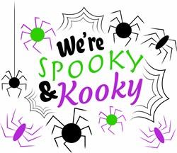 Were Spooky And Kooky print art