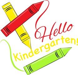 Hello Kindergarten! print art