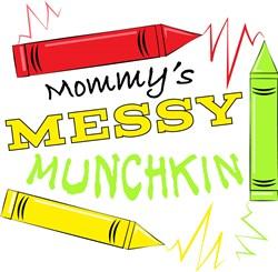 Mommys Messy Munchkin print art