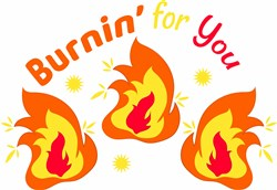 Burnin For You print art