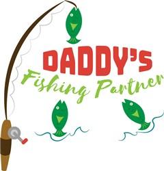 Daddys Fishing Partner print art