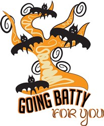 Going Batty For You print art