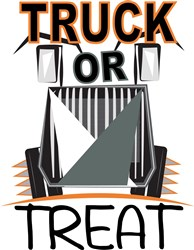 Truck or Treat print art