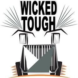 Wicked Tough print art