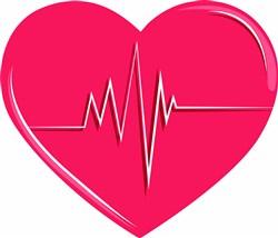 Heart & Heartbeat print art