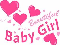 Beautiful Baby Girl print art
