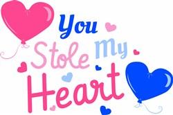 You Stole My Heart print art