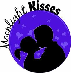 Moonlight Kisses print art