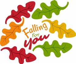 Falling For You print art