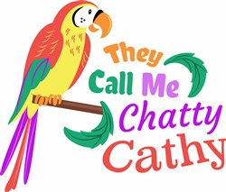 They Call Me Chatty Cathy print art