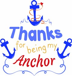 My Anchor print art