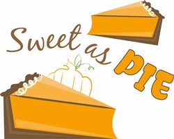 Sweet As Pie print art