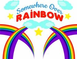Somewhere Over The Rainbow print art