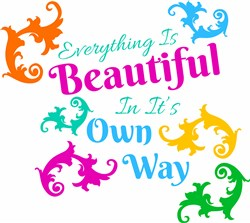 Everything Is Beautiful print art
