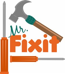 Mr Fixit print art