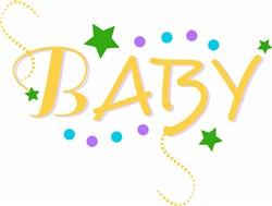 Baby print art