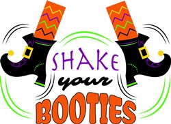 Shake Your Booties print art