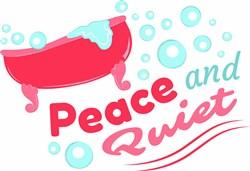 Peace & Quiet print art