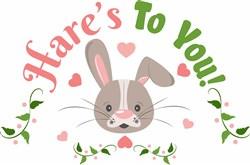 Hares To You print art