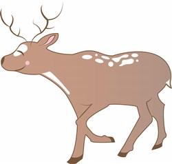 Christmas Reindeer print art