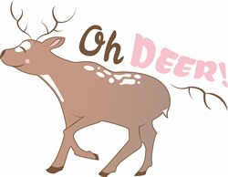 Oh Deer! print art