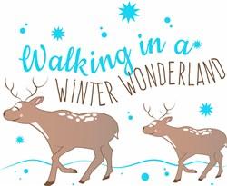 Walking In A Winter Wonderland print art