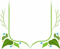 Leaf Branch Frame print art