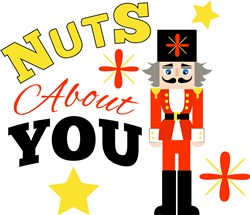 Nutcracker I m Nuts About You print art