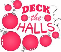 Deck The Halls print art