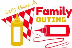 Have A Family Outing print art