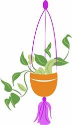 Hanging Plant print art