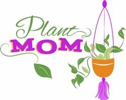 Plant Mom print art
