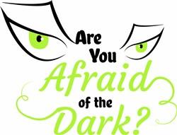 Scary Eye Are You Afraid Of The Dark print art