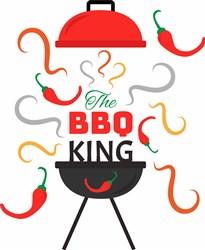 The BBQ King print art