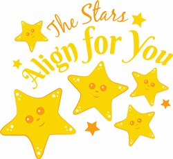 The Stars Align For You print art