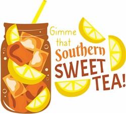 Southern Sweet Tea print art